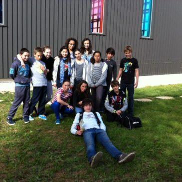 Video du relais 4 x 50 4nages au Meeting des jeunes à Poitiers
